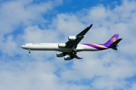 comercial: Airbus a340-500 600 Thaiairway