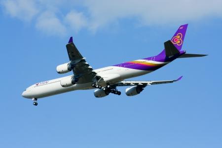 boeing 747: Airbus A340-500 600 Thaiairway