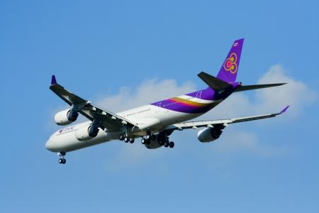 747 400: Airbus A340-500 600 Thaiairway