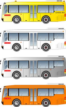minibus: minibus graphic Illustration