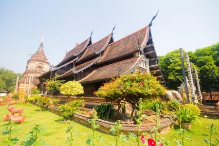 molee: Wat lok molee, chiangmai,thailand  Stock Photo