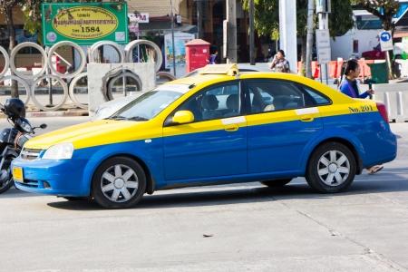 THAILAND   CHIANGMAI - JANUARY 29  2014  City taxi chiangmai, Service in city , thailand