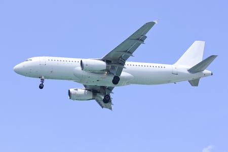 Airbus A320-200 landing shot