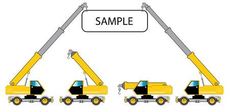 Crane truck photo