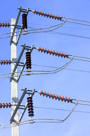 Eletricity line  Imagens