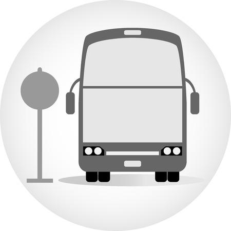 deck: Double deck bus vector Illustration