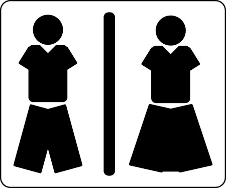 toilet icon: Toilet icon vector