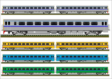 railcar: Railcar train vector