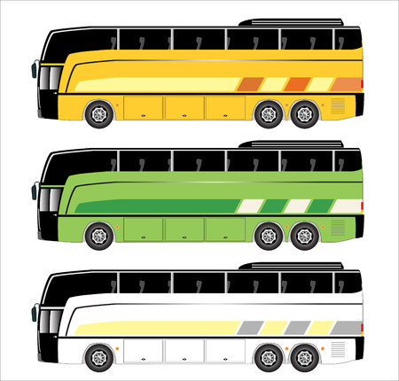 motor coach: Tourist bus