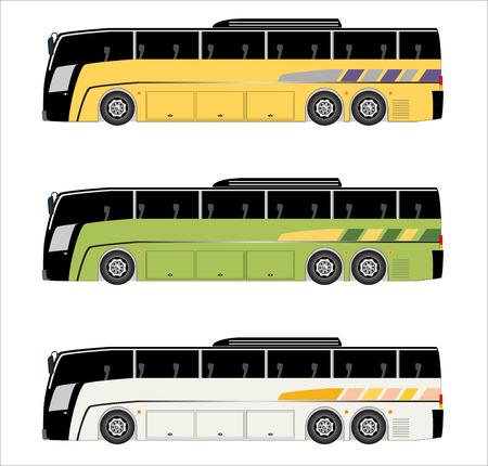 motor coach: Low floor city  bus