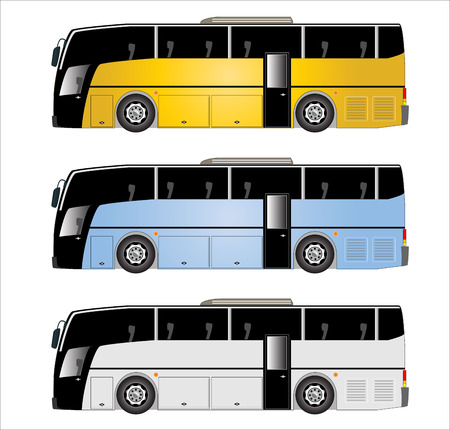 motor coach: Mini Low floor city bus