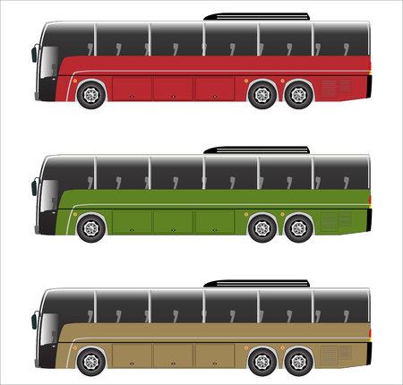 motor coach: city bus