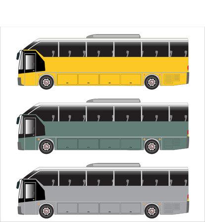 low floor: highway bus