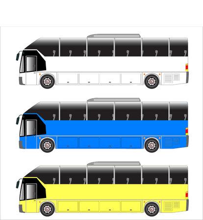 motor coach: highway bus