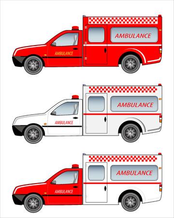pickup: Ambulance Pickup Car