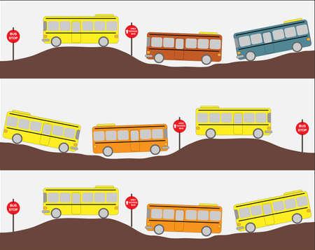yellow schoolbus: School bus