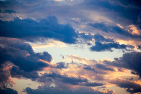 cloud scape: Cloud Scape, Sun rise and Cloud from Tropical Sky.