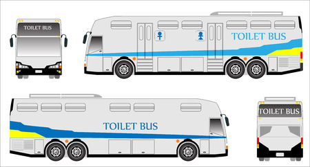 chiangmai: Mobile toilet bus