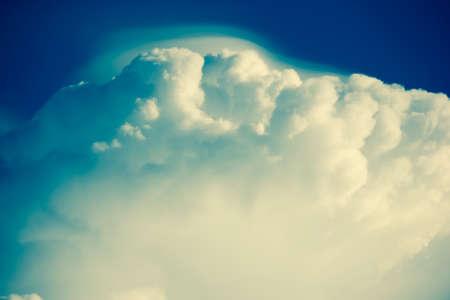 cloud scape: Retro Cloud Scape, Cloud from Tropical Sky.
