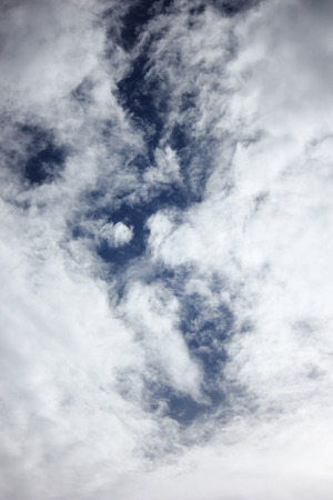 cloud scape: Cloud Scape, Cloud scape in railny season of Tropical Sky.