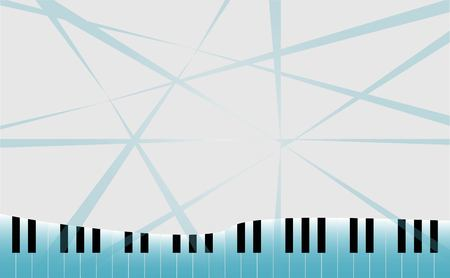 old notebook: Piano key and Abstract Space for Music idea Background Vector art and illustration