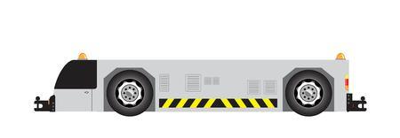 Airport tow truck vector Stock Vector - 114804360