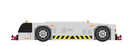 Airport tow truck vector Stock Vector - 114804361