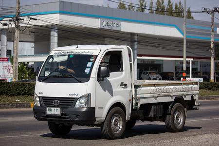Chiangmai, Thailand - November 26 2018: Private Tata SuperACE City Giant Mini truck. On road no.1001 8 km from Chiangmai city. Editoriali