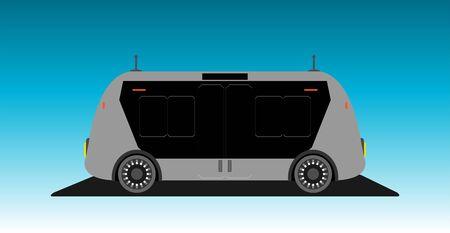 Driverless Autonomous Self driving mini bus