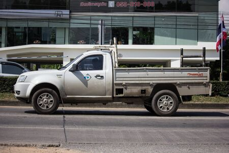 Chiangmai, Thailand -  October 29 2019: Private Tata Xenon  Pickup truck. Photo at road no 121 about 8 km from downtown Chiangmai, thailand.