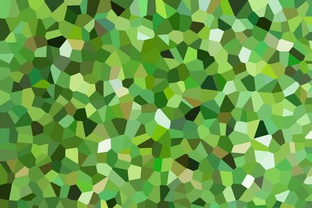 crystal background: abstract green color crystal background Stock Photo