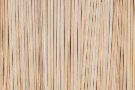 undulatory: Closeup wood stick for meatball skewers texture background Stock Photo