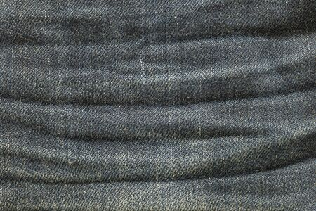 trousers: Closeup old jean trousers fabric texture background Stock Photo