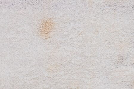 tatter: Closeup old and dirty napkin fabric background Stock Photo