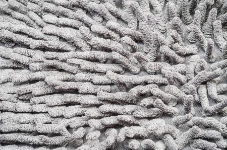 limp: Closeup old and pale gray mat texture background