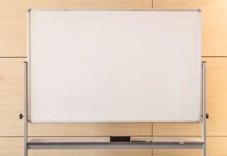 Close-up white board in de vergaderzaal achtergrond