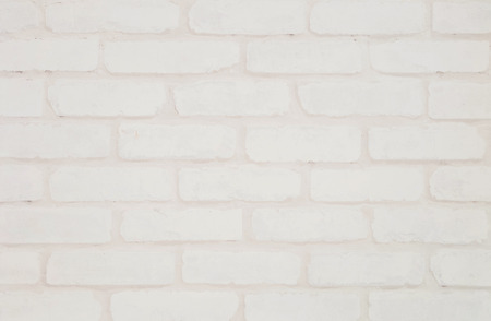 cream color: Closeup surface cream color brick wallpaper wall textured background Stock Photo