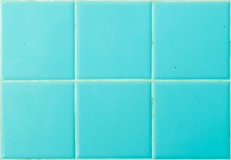bathroom tile: Closeup blue tile in bathroom wall texture background