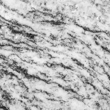 marble wall: Closeup surface marble pattern at the marble stone wall texture background in black and white tone Stock Photo