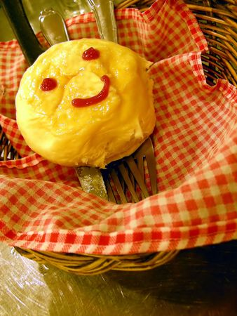 Happy Face Bread photo