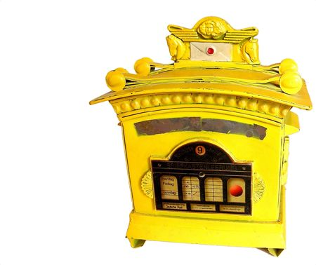 Freitag: Yellow Deutsche Mail Box