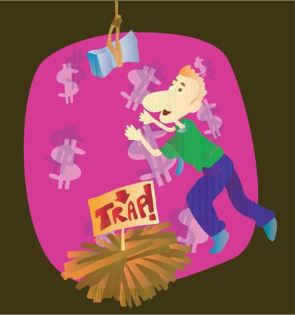 bridging: Money Trap (Vector)