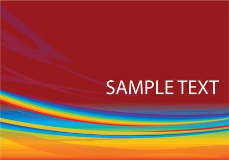 Rainbow Fractal Background Wallpaper Design