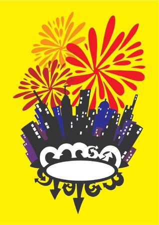 City Celebration  Vector