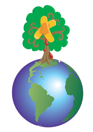 Heal The World Stock Vector - 1242844