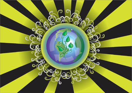 Heal The World Illustration