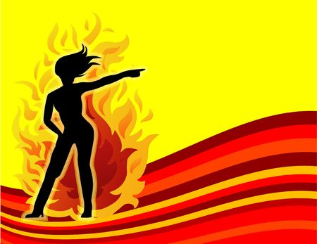 seduction: Hot Women On Fire