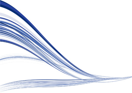 Abstract Blue Wind Vector Background
