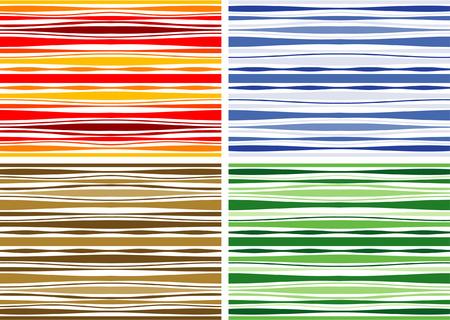 Multi Color Seamless Textile Pattern