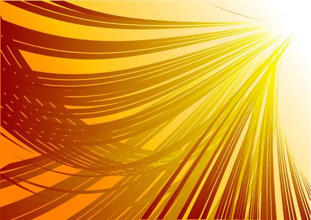 Abstract golden vector composition background  Illustration